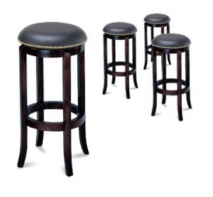 Astounding Espresso Wood Barstool Gmtry Best Dining Table And Chair Ideas Images Gmtryco