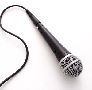corded microphone 25 foot or 50 foot