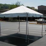 10x10 pole tent