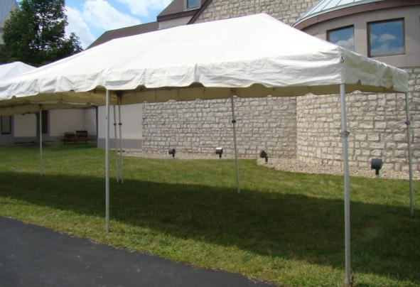10x20 frame tent