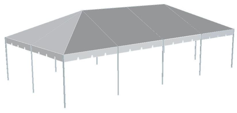 20 x 40 frame tent 8 high