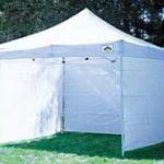 10x10 or 10x20 pop up sidewall