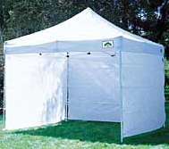 10x10 or 10x20 pop up sidewall & Sidewall for Pop Up Tent | Platinum Event Rentals