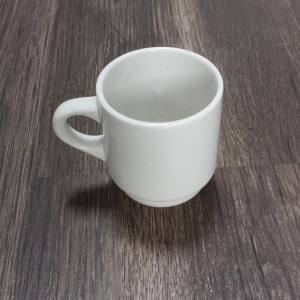 white china espresso cup