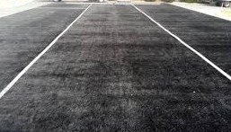 black astroturf per square foot