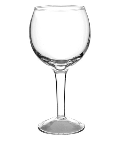 8oz bulb wine glass