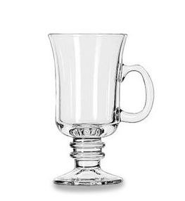 Stemmed irish coffee cup
