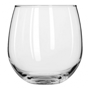 stemless wine glass 12oz