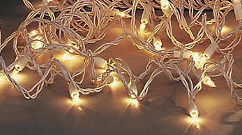 white twinkle lights