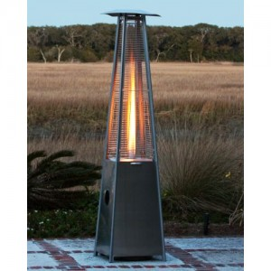 pyramid heater with propane