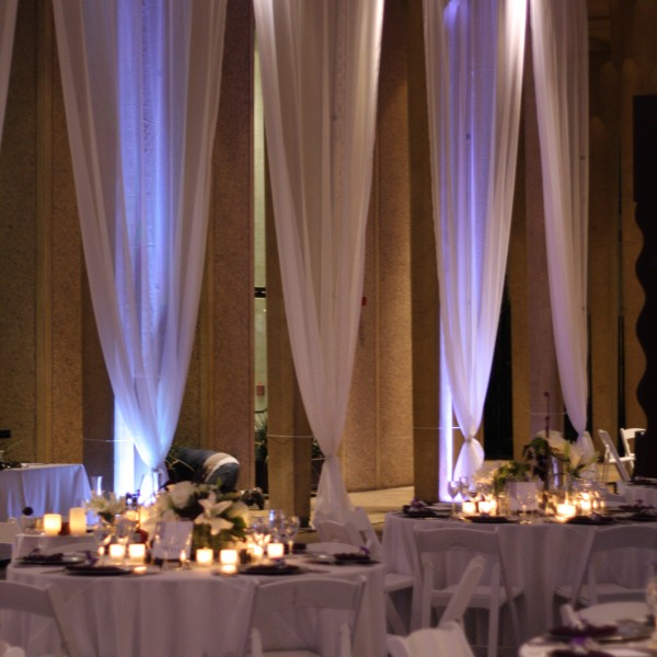 18foot high drapes