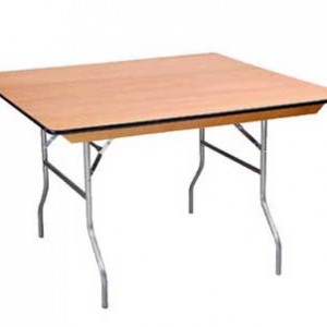 36inch square table