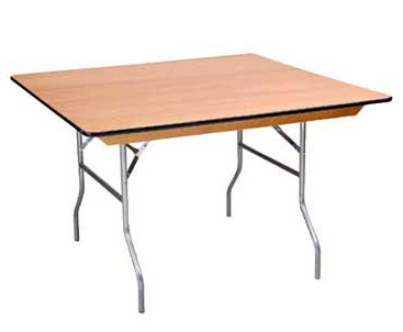 48inch square table