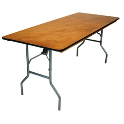 8u0027 X 30inch Banquet Table