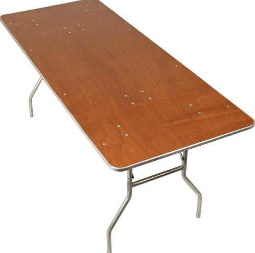 Charming 8 Foot King Table 96inch X 40inch