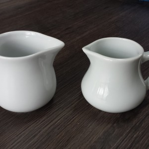 white china creamer pourer (3oz and 3.5oz)