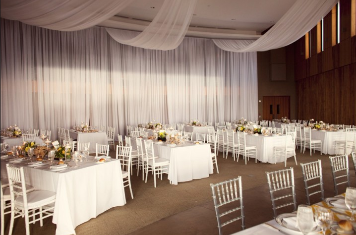 Round Tables Or Banquet Tables For Your Wedding Reception