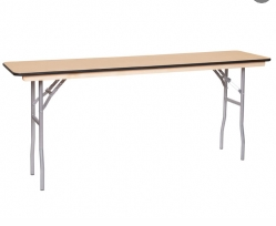 classroom table 18inch by 6'