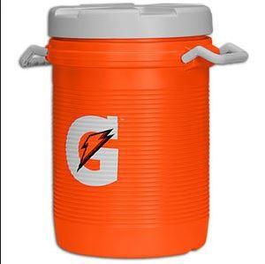 beverage dispenser, 5 gallon orange