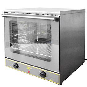 Tabletop electric convection oven, fits 3 quarter sheet pans ...