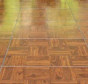 Dance Floor Wood Parquet Priced Per 3 X 4 Section