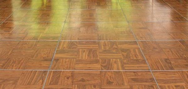 Dance Floor Wood Parquet Priced Per 3x 3 Section Price Includes