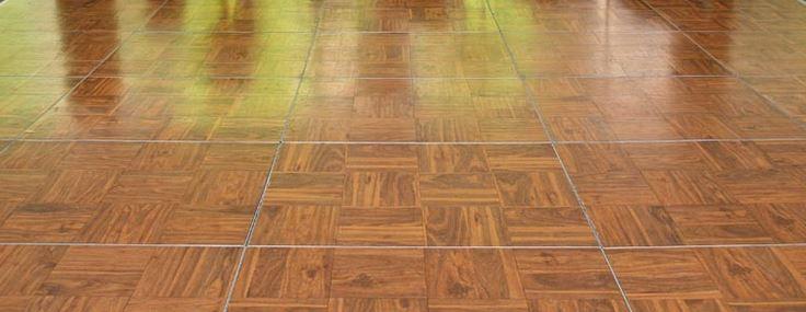 Dance Floor Wood Parquet Priced Per 3 X 3 Section