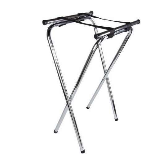 Tray Jack Stand Chrome To Be Used With Large Serving Trays